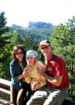 My Favorite - Mt. Rushmore is in the distance behind us